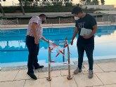 Comienzan las tareas de mantenimiento en las instalaciones deportivas municipales
