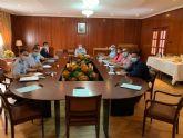El alcalde José Miguel Luengo se reúne  con representantes del Ejército del Aire para avanzar en el proyecto 'San Javier, ciudad del Aire'