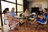 La Alcaldesa se reúne con la Consejera de Transparencia, Participación y Administración Pública
