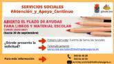 El Ayuntamiento de Molina de Segura abre el plazo de solicitud de ayudas destinadas a la adquisición de libros para el curso 2020-2021