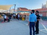 El concejal de Comercio prepara nuevas medidas de prevención para los mercados al aire libre