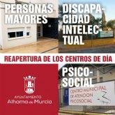 Reabren los centros de d�a del municipio