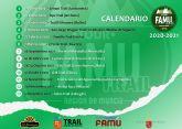 Disponible reglamento y calendario Trail Tour FAMU 2020-2021