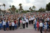 Multitudinaria misa en honor al Cristo del Mar Menor en Lo Pagán
