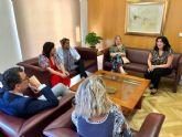 El Ayuntamiento y la Organización de Mujeres Empresarias de Murcia estrechan lazos para desarrollar nuevos proyectos