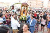 La comunidad ecuatoriana se congrega en torno a la Virgen del Cisne