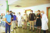 La Alcaldesa de Archena anuncia la ampliación del personal del Consultorio Médico de La Algaida