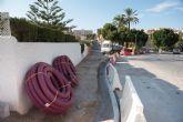 Inician trabajos para la mejora de calles en puerto de Mazarrón