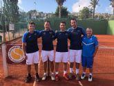 Pedro Cánovas campeón de Europa senior con el Murcia Club de Tenis