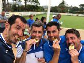 El totanero Pedro Cánovas, campeón de Europa Senior +35 por segundo año consecutivo con el Murcia Club de Tenis