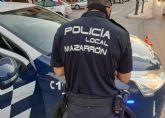 Detenido en Mazarr�n por incumplimiento de las normas sanitarias
