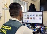 La Guardia Civil detiene a un vecino de Cieza por acosar a través de redes sociales a una joven con pretensiones sexuales