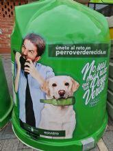 Bullas se suma a la campana ´No seas más raro que un perro verde, Recicla Vidrio´