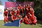 Presentación del partido Fútbol Sala femenino entre las Selecciones Nacionales absolutas de España e Italia