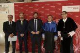 El químico Patricio Valderde ingresa en el claustro de honor de la Universidad de Murcia