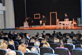 El 'VII Certamen Nacional de Teatro Amateur Juan Baño' disfruta con la 'Cía. Teatro en Construcción' de Elche de su 'Huanita'