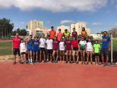 Los atletas del Club Atletismo Alhama presentes en el