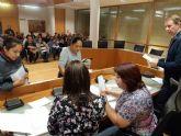 Comienza el primer turno del Programa de Fomento de Empleo Agrario en Totana, con la contrataci�n inicial de 66 desempleados del 1 de noviembre al 31 de enero