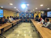 El alcalde de Torre Pacheco asiste a la reunión convocada por el presidente de la CHS
