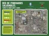 Las Torres de Cotillas estrena sus itinerarios saludables con una jornada popular