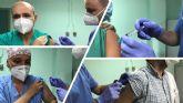 El Hospital de Molina inicia su campaña de vacunación antigripal y antineumocócica para su personal