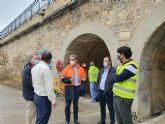 Fomento refuerza la seguridad del puente de hierro de Archena
