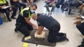 La Polic�a Local desarrolla una acci�n formativa sobre Soporte Vital B�sico y uso del desfibrilador externo semiautom�tico (DESA)