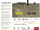 I Jornadas de Paisaje Cultural. Murcia 2018