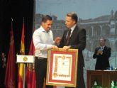 Lorca reconoce a Juan Martín Atenza con el Diploma de Servicios Distinguidos a título póstumo