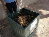 San Pedro del Pinatar fomenta el compostaje doméstico de biorresiduos