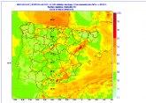 Se activa el aviso amarillo por fuertes vientos en la Región de Murcia