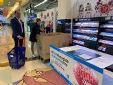 Campaña de recogida de alimentos de Carrefour y Cáritas