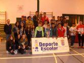 Finaliza la Fase Local de Fútbol Sala y Baloncesto Infantil Cadete y Juvenil de Deporte Escolar