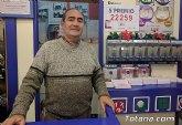 Librería Atenas de Totana vendió parte del 5º premio de la Lotería de Navidad