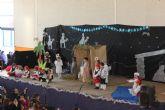 Los niños de Puerto Lumbreras celebran la llegada de la Navidad con fiestas en los colegios
