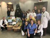 El Hospital de Molina entrega 250 kgs. de comida a Cáritas