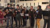 La inauguración del Belén municipal contó con la actuación de la Rondalla Virgen de los Dolores y los Coros y Danzas Ntra. Sra. del Rosario