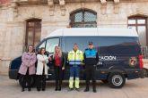 La Policía Local incorpora a su parque móvil un nuevo vehículo para señalización