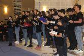 Patnia y el coro del IES Dos Mares ofrecen un concierto de Navidad en la iglesia de la Santísima Trinidad