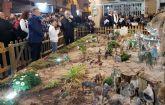 Inaugurado el  Belén municipal de Los Alcázares, premiado en cinco ocasiones por la Asociación de Belenistas de la Región