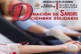 Este miércoles dona sangre en el Palacio Consistorial