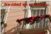 Llega la actividad familiar ´Feliz Navidad, Bona Saturnalia´ al Museo del Teatro Romano de Cartagena