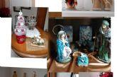 Los mayores presentan sus trabajos más creativos y originales en la I muestra de Decoración Navideña