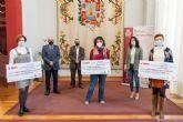 Los premios FAMPA Cartagena -Juana Guillén reconocen los proyectos educativos contra la Covid-19 de las ampas de José María Lapuerta, Vicente Ros y María Cegarra Salcedo