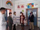 Los niños y niñas del colegio Las Boqueras reciben los salvoconductos para los Reyes Magos