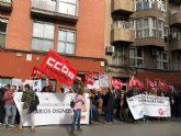 CCOO Enseñanza protesta ante Diagrama por el incumplimiento del convenio colectivo