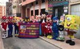 El programa Muñecos Solidarios, que la Peña Barcelonista de Totana desarrolla en favor de D´Genes y AELIP, se amplía con tres nuevos personajes