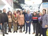 La concejala de Turismo asiste a la presentación que la Mancomunidad de Sierra Espuña hace del producto ecoturístico 'Espusendas' en Fitur´2020