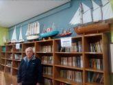 La biblioteca del Hogar de Pensionista 'Raimundo Benedicto' se llena de barcos