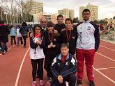 Triunfos del atletismo mazarronero en los campeonatos regionales